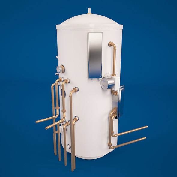 Water boiler - 3DOcean Item for Sale