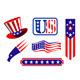 American patriotic symbols - GraphicRiver Item for Sale