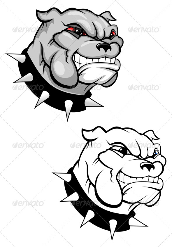 Bulldog mascot - Animals Characters
