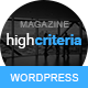 HighCriteria - Flat & Clean Magazine Theme