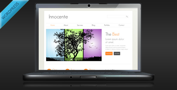 Innocente - Clean and Minimalist WordPress Theme