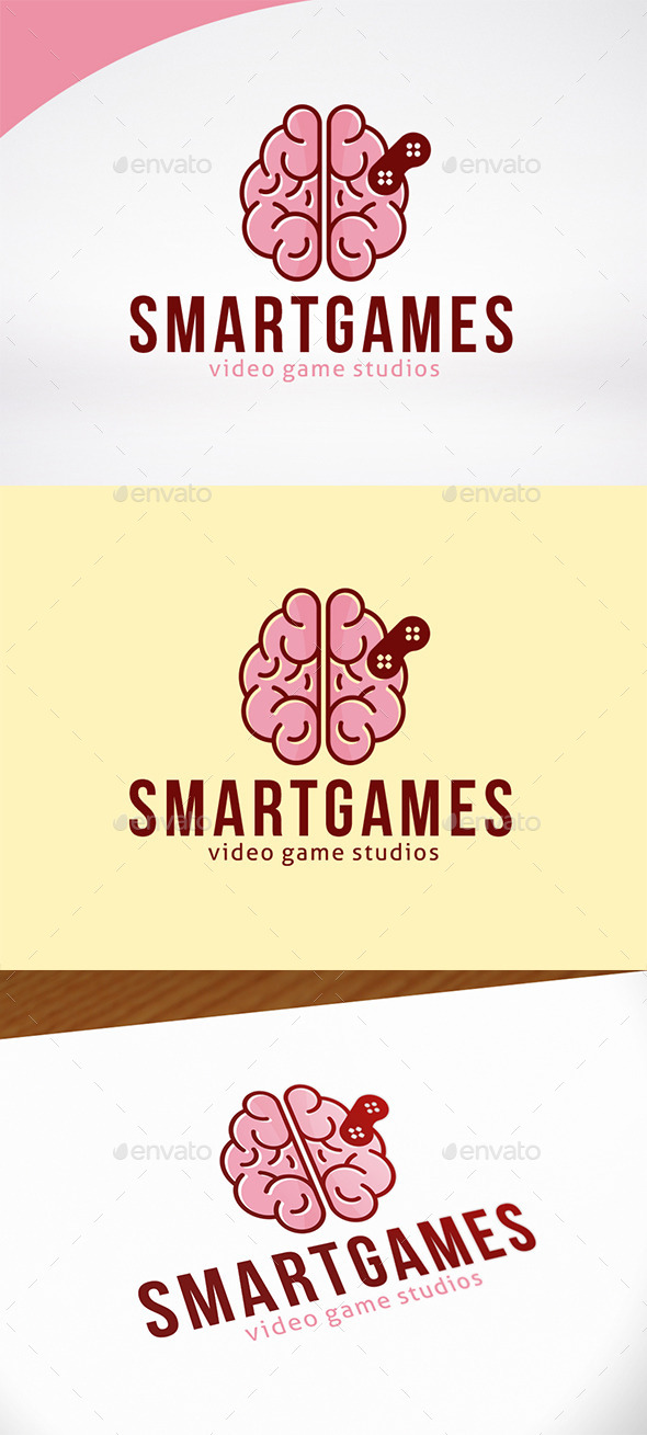 Brain Games Logo Template