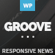 GROOVE - Clean Newspaper & Magazine Theme