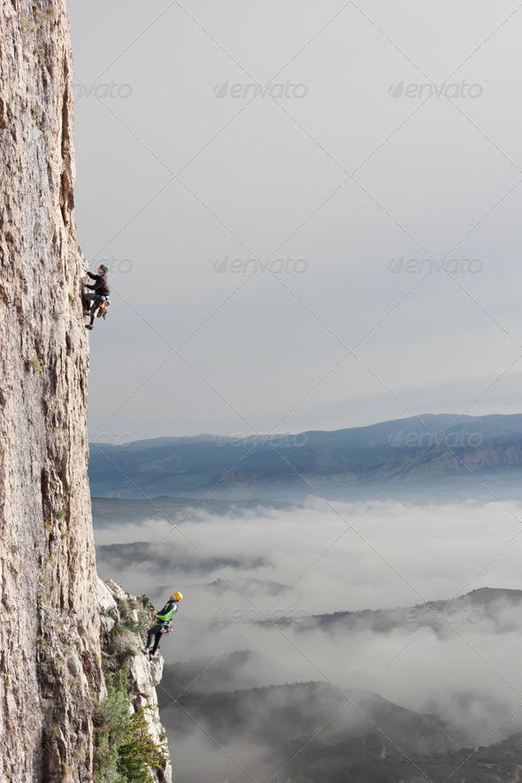 Stock Photo - PhotoDune Climbing 1263442