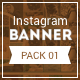 HD Instagram Banners - Pack 1