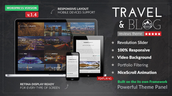 Download Travelogue - Travel Blog WordPress Theme nulled download