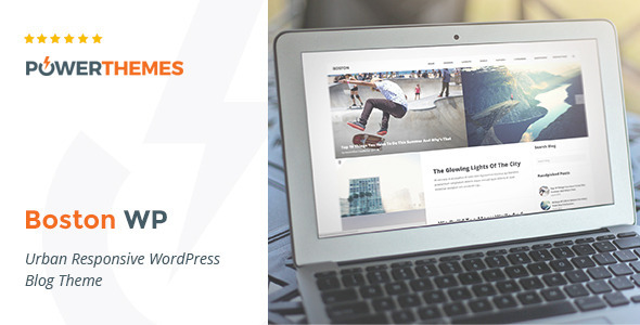 Boston - Urban Responsive WordPress Blog Theme