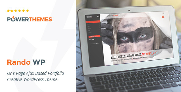 Rando | One Page Ajax Based Creative WP Theme