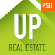UP Real Estate - Multipurpose PSD Template