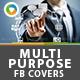 Multipurpose Facebook Covers - 2 Designs
