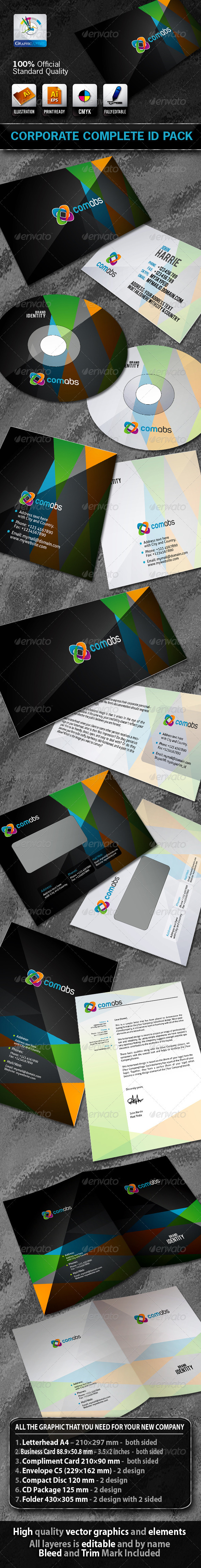 ComAbs Business Corporate ID Pack & Logo