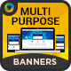 Multi Purpose HTML5 Banners - Google Web Designer