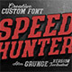 SpeedHunter Custom Font