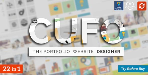 Cufo - Responsive Customizable Portfolio Theme