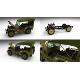Full (w chassis) Jeep Willys MB Military Top