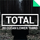 Total - Clean Lower Third