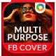 Multipurpose Facebook Covers - 5 Designs