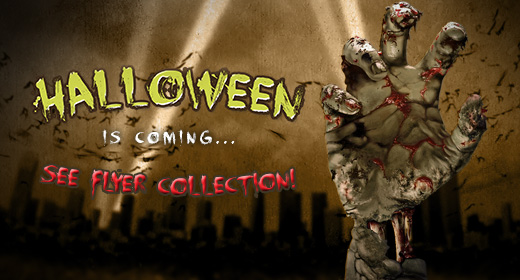 Special Halloween 2016 Flyer Collection