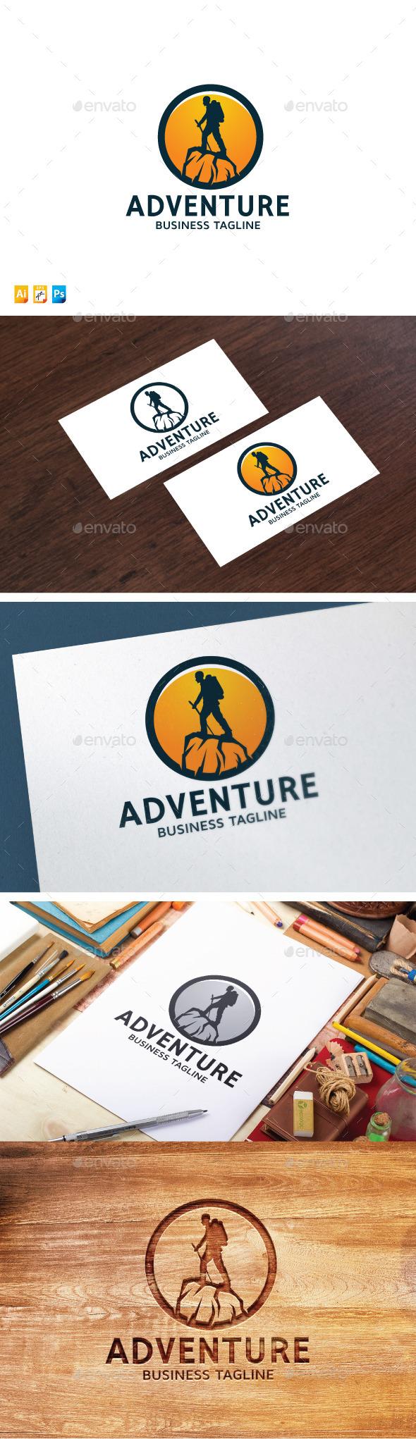 Traveller logo template
