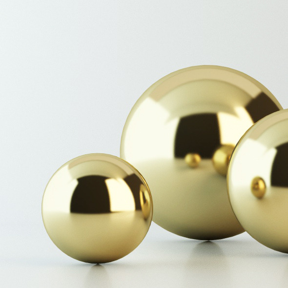 Gold Material - Vray for C4D - 3DOcean Item for Sale