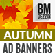 Autumn Sale Ad Banners