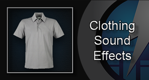 Clothing Sound Effects