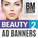 Beauty Ad Banners