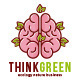 Think Green Logo Template