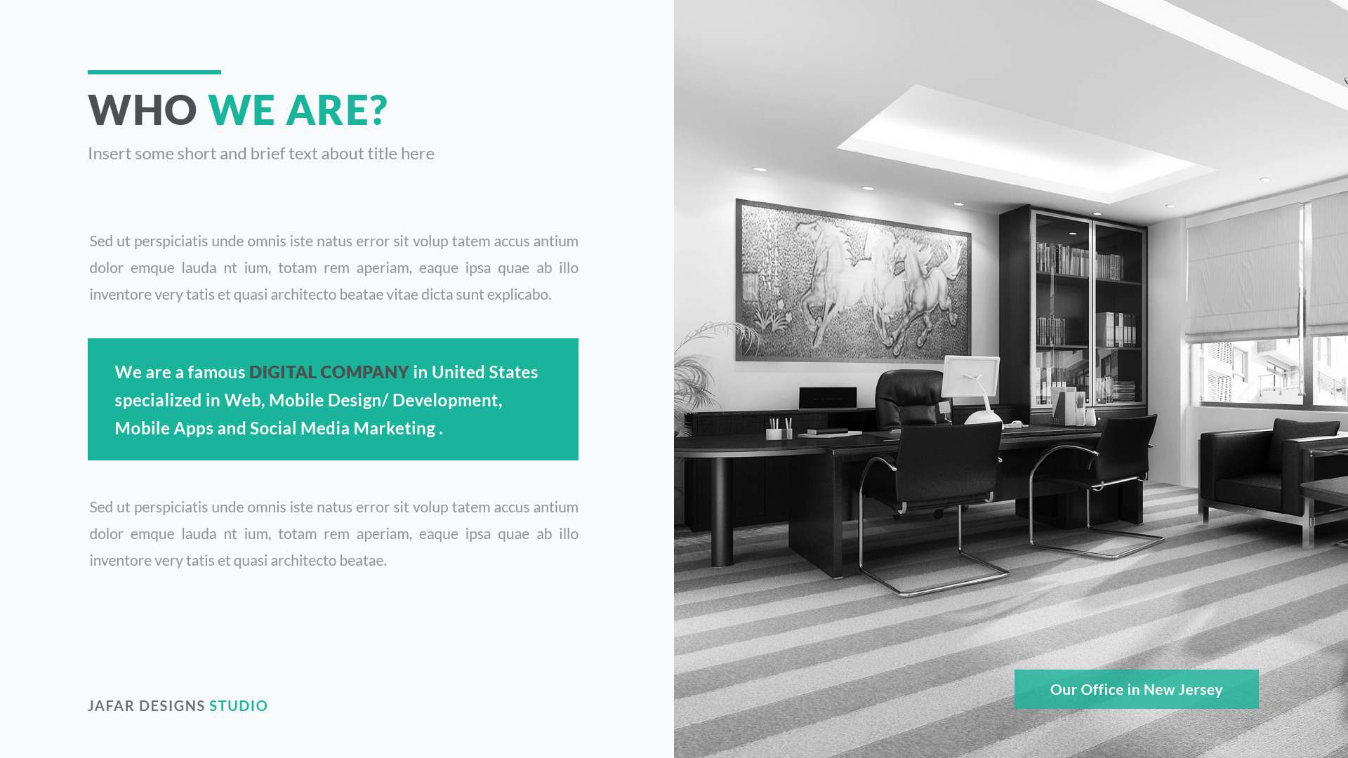 Business Proposal Keynote Template by JafarDesigns – Real Estate Proposal Template