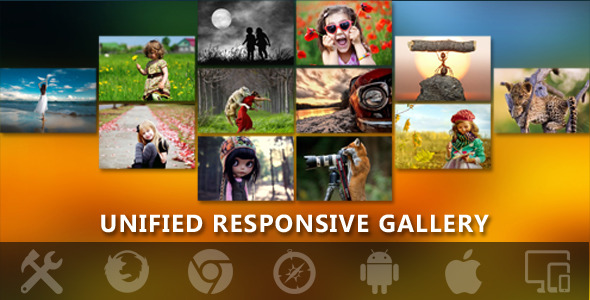 Gallerify - Responsive Unified Photo Gallery Pro