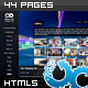 Fluxglide Complete HTML5 Website Template - ThemeForest Item for Sale