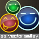 Smiley icon set - ActiveDen Item for Sale
