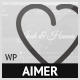 Aimer - Wedding WordPress Theme For Lovers - ThemeForest Item for Sale