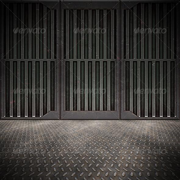 GraphicRiver Steel Floor 1267233