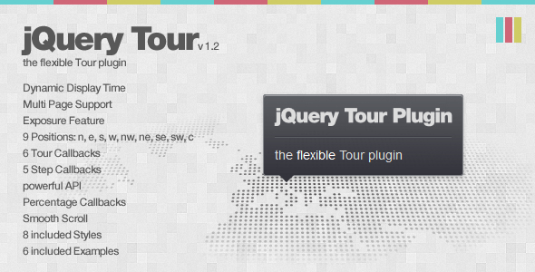 CodeCanyon jQuery Tour the flexible Tour plugin 1052564