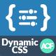 ACF Dynamic CSS