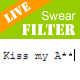 Live Swear Words Filter - Filters as you type