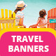 Travel Vacation Tourism - Ads Banner
