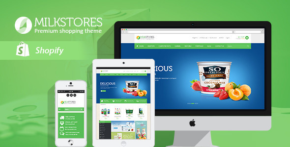 Leo Milk Store Shopify Theme