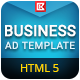 Business | HTML5 Google Banner Ad 08