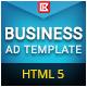 Business   HTML5 Google Banner Ad 08