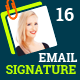 Email Signature Templates- Creative 16 Designs