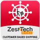ZestTech Customer Based Shipping