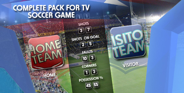 Sports Pack Tv Soccer Game