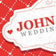 Valentine's Day And Wedding Invitation Postcard - GraphicRiver Item for Sale