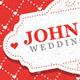 Valentine's Day And Wedding Invitation Postcard