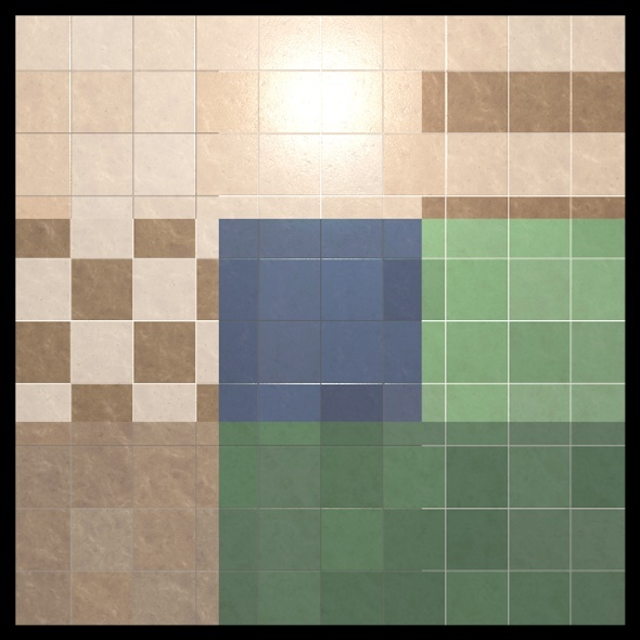 9 Tiles Shaders Cinema 4D - 3DOcean Item for Sale
