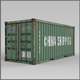 20F Shipping Container