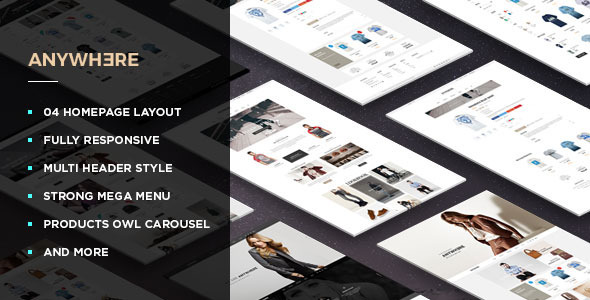 Leo Anywhere - Responsive Prestashop Theme