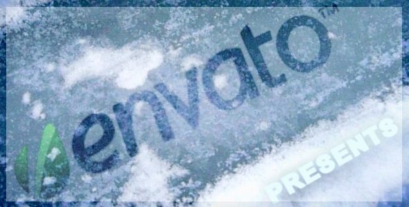 After Effects Project - VideoHive Realistic Under Ice Logo Reveal 153200